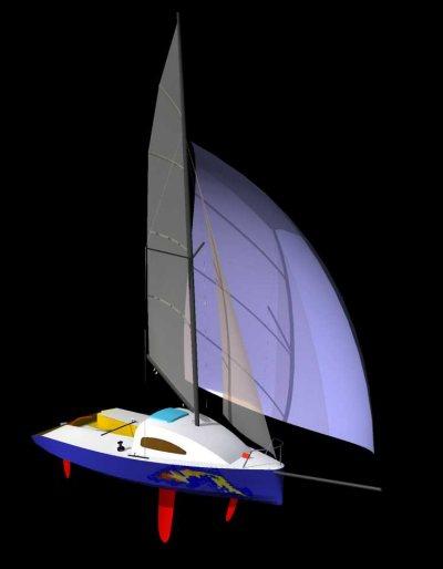 яхта лиса