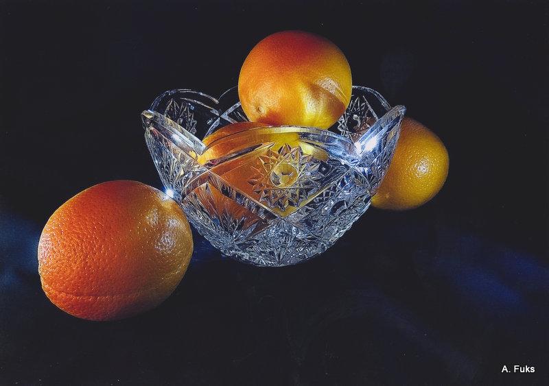 Фото натюрморта - Апельсины