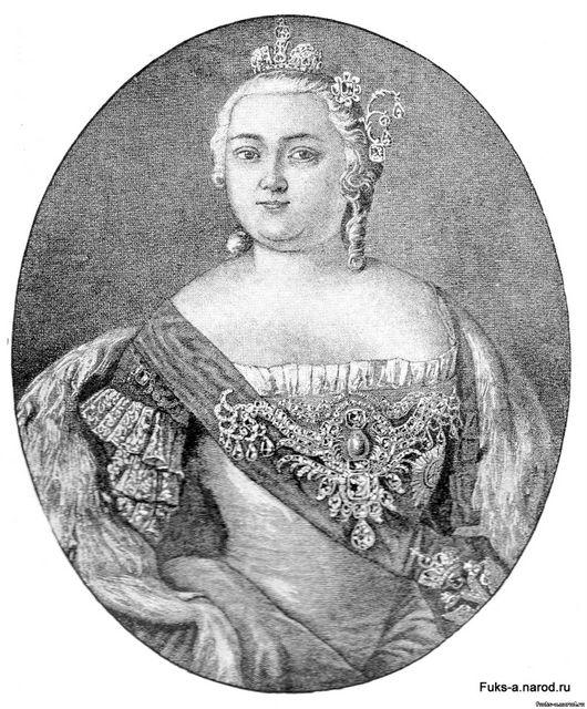 Елизавета Петровна, императрица Всероссийская