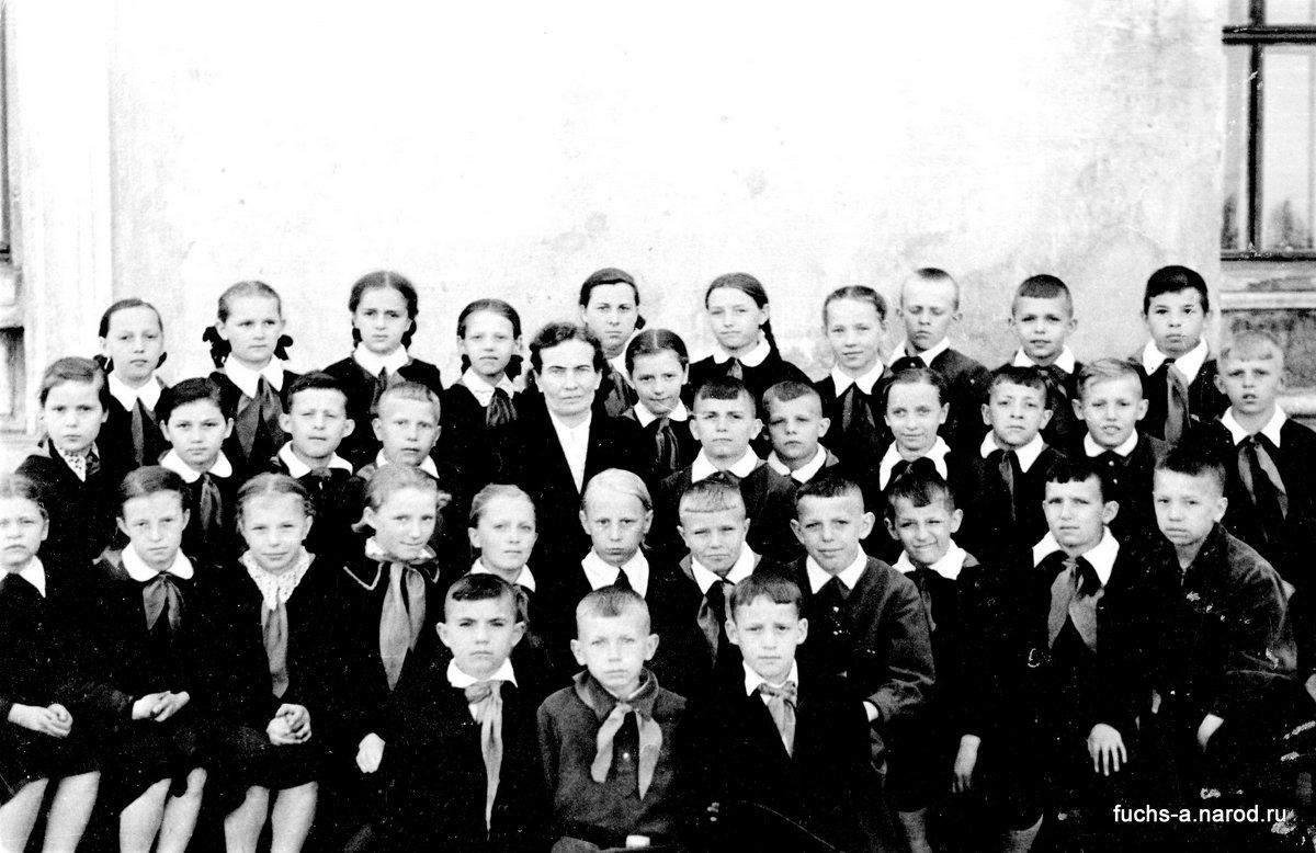 4-в класс. 1959 г.