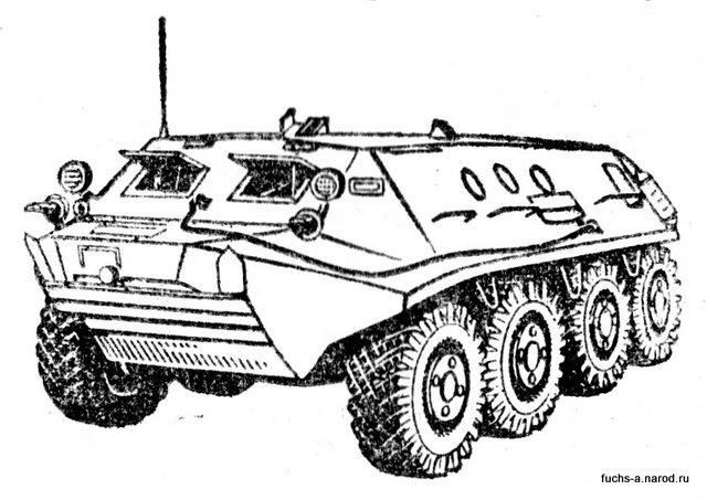 бронетранспортёр 1980