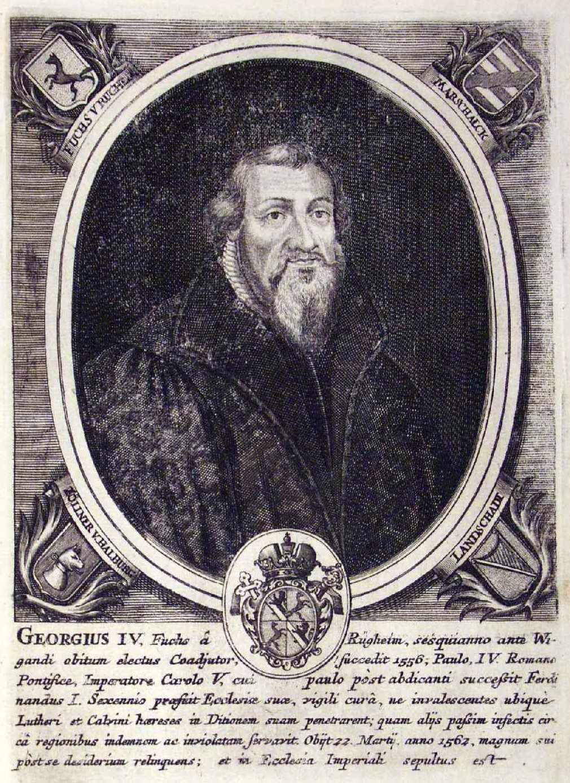 Портрет, Георг 4 Фукс фон Рюгхайм