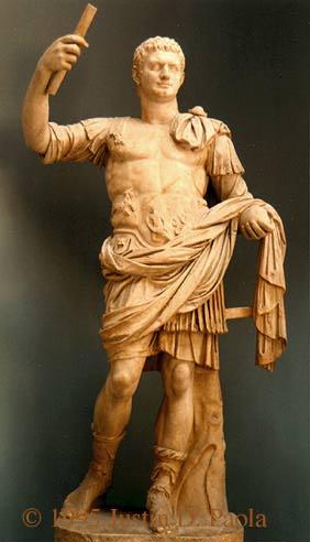 домициан - скульптура