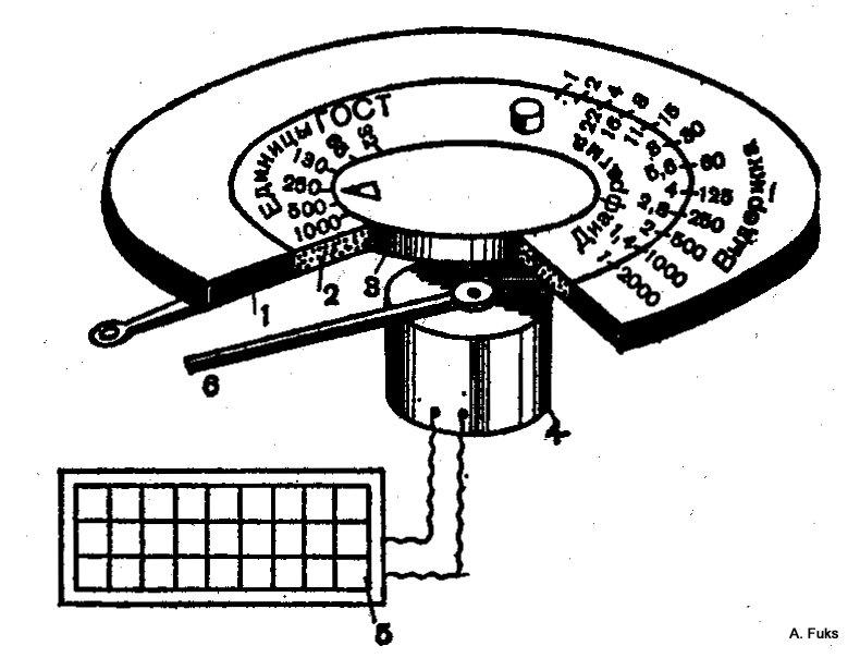 Схема экспонометра