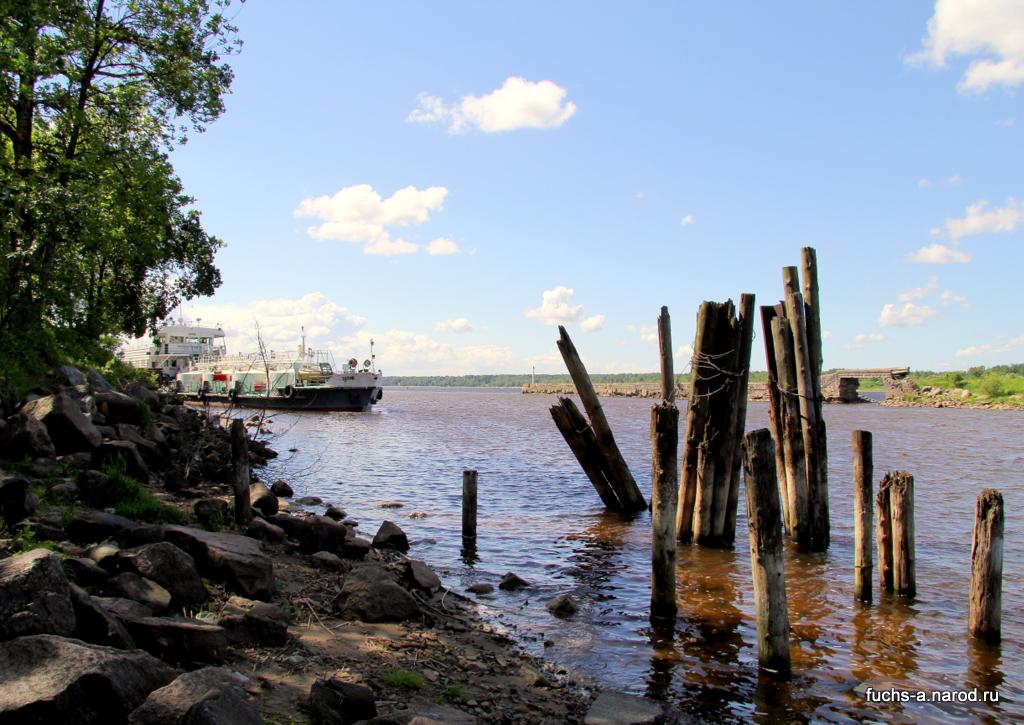 Устье Новоладожского канала